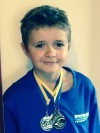 Isaac Evans, 8 wins three medals